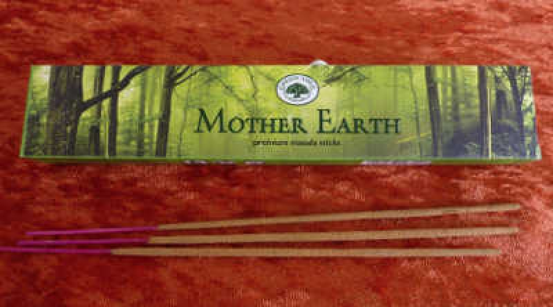 Mother Earth  Green Tree Masala Räucherstäbchen 15g