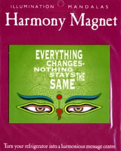Harmony Magnetkarte EVERYTHING CHANGES